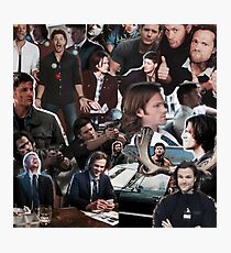 Sam and Dean - Supernatural Photographic Print