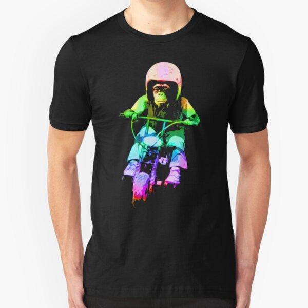 MOTO CHIMP! Slim Fit T-Shirt