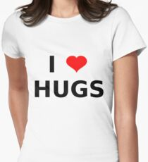I LOVE HUGS T-SHIRTS MUGS LEGGINGS DUVET COVERS ETC T-Shirt