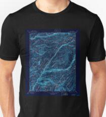 USGS TOPO Map California CA Big Trees 299225 1901 125000 geo Inverted T-Shirt