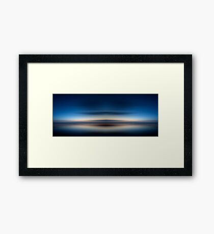Blue dream Framed Print