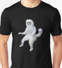 Persian Cat Room Guardian Meme Unisex T-Shirt