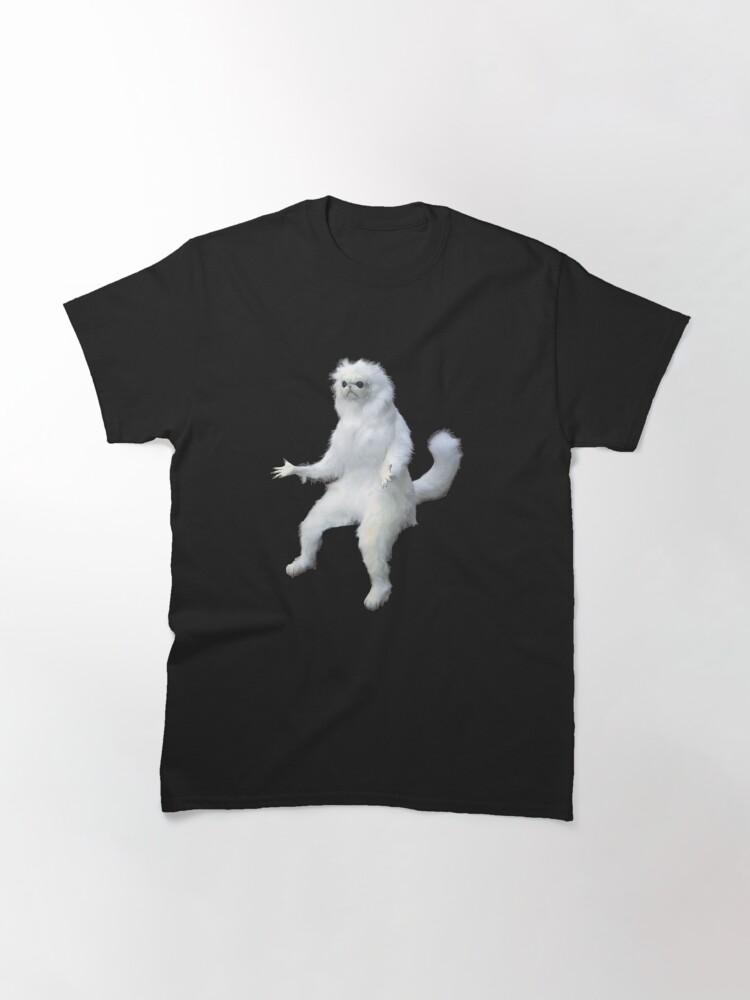 Alternate view of Persian Cat Room Guardian Meme Classic T-Shirt
