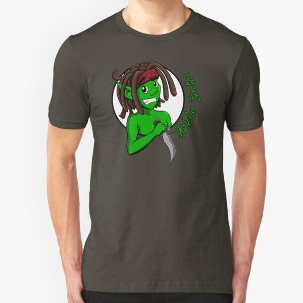 Hello Gobo Slim Fit T-Shirt