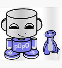 Popo Yo O'babybot (and Rawr) Poster