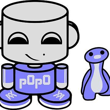Popo Yo O'babybot (and Rawr) by carbonfibreme