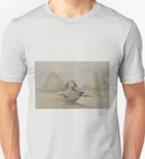 Sphynx Pyramid in Cairo Egypt Unisex T-Shirt