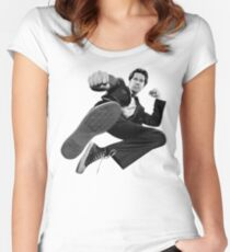 Chuck 'Intersect' Kick - 2017 Women's Fitted Scoop T-Shirt