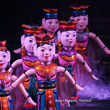 Water Puppets, Vietnam by gigges