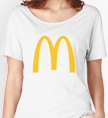 McDonald's Logo Women's Relaxed Fit T-Shirt