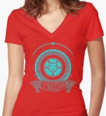 College of Winterhold - Winterhold Women's Fitted V-Neck T-Shirt