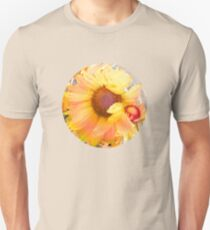 Blanket Flowers in the Wind - Floral Abstract T-Shirt