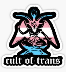 Cults Of Trans Sticker