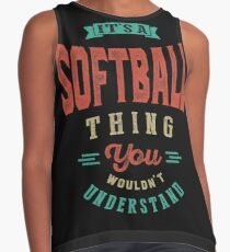 It's a Softball Thing | Sports Contrast Tank