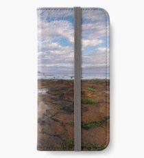 Low Tide at Rickett's Point, Beaumaris iPhone Wallet/Case/Skin