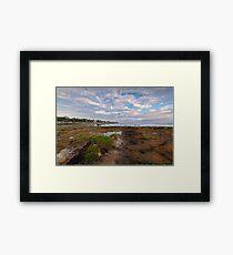 Low Tide at Rickett's Point, Beaumaris Framed Print