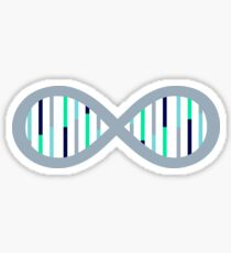 Infinity Sign DNA Sticker