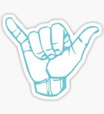 Shaka ASL stickers Sticker