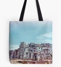 Enna, Sicily, Italy on film. Tote Bag