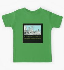Greenwich Village Roofscape  Kids Clothes