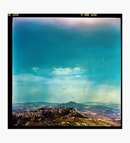 Dirty Landscape - Enna, Sicily. Photographic Print