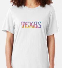 TEXAS TIE DYE Slim Fit T-Shirt