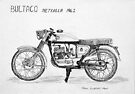 Bultaco Metralla 200cc 1962 by Paul Gilbert