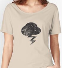 Cloud and storm Women's Relaxed Fit T-Shirt