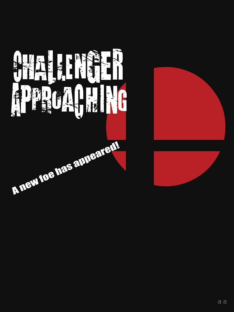 Super Smash Bros: Challenger Approaching! (3DS Style) | Unisex T-Shirt