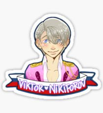 Yuri!!! on Ice - Viktor Nikiforov - Performance suit with no hearts Sticker