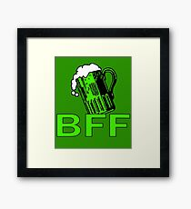 Green Beer is My BFF Framed Print