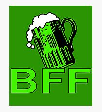 Green Beer is My BFF Photographic Print