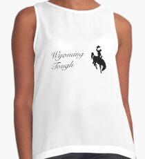 Wyoming Tough Cowboy Contrast Tank