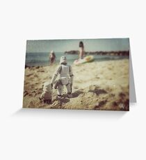 Tatooine beach Greeting Card