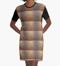 Sand ripples Graphic T-Shirt Dress