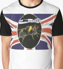 GOD SAVE THE BEES Graphic T-Shirt