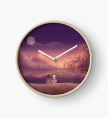 Naruto and Sasuke Digital Landscape Clock