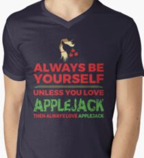 Always Love Applejack Mens V-Neck T-Shirt