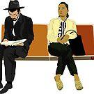 NYC Subway Riders by ambriente