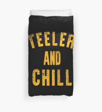 Steelers And Chill Duvet Cover