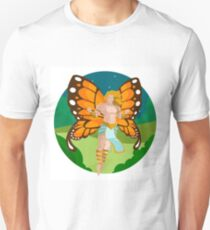 fairy male in the woods Unisex T-Shirt