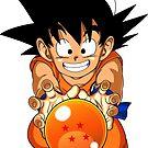 Young Goku by mkeene2015