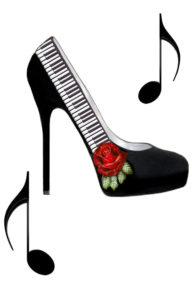 ¸.•*•♪ღ♪¸.•*¨¨PIANO KEY HIGH HEEL STEPPING TO THE BEAT¸.•*•♪ღ♪¸.•*¨¨  by ✿✿ Bonita ✿✿ ђєℓℓσ