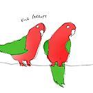 king parrots by Matt Mawson
