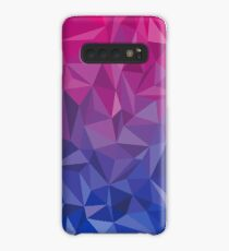 Geometric Bi Pride Case/Skin for Samsung Galaxy