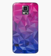 Geometric Bi Pride Case/Skin for Samsung Galaxy