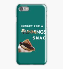 bunnings snag  iPhone Case/Skin