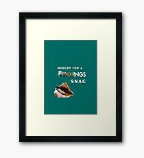 bunnings snag  Framed Print
