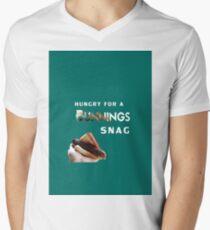 bunnings snag  Men's V-Neck T-Shirt