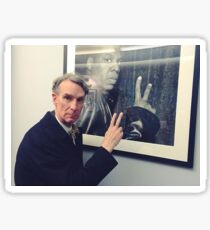 Bill Nye + Jay Z Sticker
